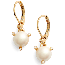 %27rise+and+shine%27+faux+pearl+lever+back+earrings