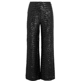 Roland+Mouret+Sequinned+Trousers
