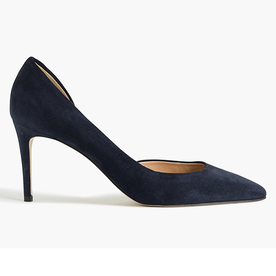 Lucie+Suede+Pumps