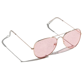 Pink+Top+Gun+Aviator+Sunglasses