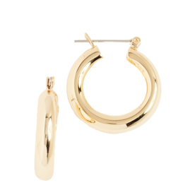 Baby+Amalfi+Tube+Hoop+Earrings