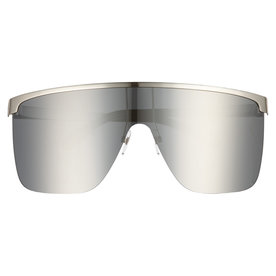 70mm+Rimless+Shield+Sunglasses