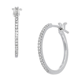 Carri%C3%A8re+Bypass+Diamond+Hoop+Earrings