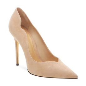 Monaliza+Suede+Point+Toe+Pumps
