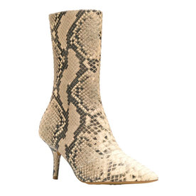 Snake+Patterned+Boots