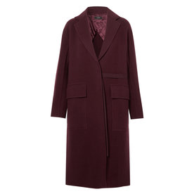 Silla+Wool+and+Cashmere-Blend+Coat