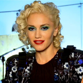 At the Cover Shoot with Gwen Stefani