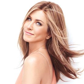 At the Cover Shoot With Jennifer Aniston