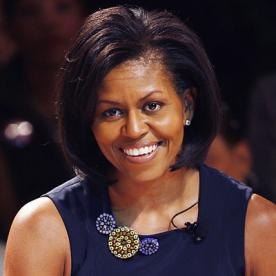 Superb Michelle Obama39S Changing Looks Instyle Com Short Hairstyles For Black Women Fulllsitofus