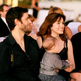 Mariska Hargitay Husband Peter Hermann And Their Infant August