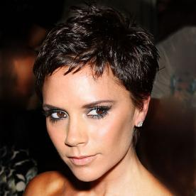 Pixie Hairstyles if i was ever brace hair Victoria Beckham Pixie Cut