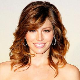 Stupendous Jessica Biel39S Changing Looks Instyle Com Hairstyles For Men Maxibearus