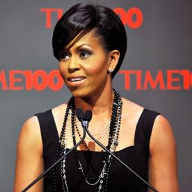 Super 9 Key Tips From Michelle Obama39S Hairstylist Instyle Com Short Hairstyles For Black Women Fulllsitofus