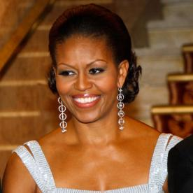 9 key tips from michelle obamas hairstylist instyle michelle obama transformation beauty pmusecretfo Images