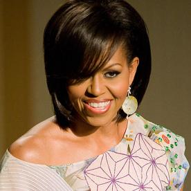 Admirable Michelle Obama39S Changing Looks Instyle Com Short Hairstyles Gunalazisus
