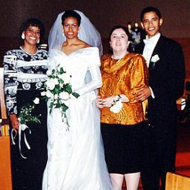 Image result for barack obama wedding