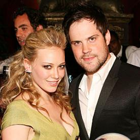 hilary duff mike comrie the hottest celebrity engagement rings - Hilary Duff Wedding Ring