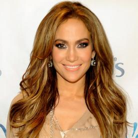 jennifer lopez gorgeous highlights for any hair color highlighted hair - Color Highlights For Brown Hair