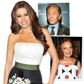 Sofia Vergara: 'Valentino and Diane Von Furstenberg Watch Modern Family!'