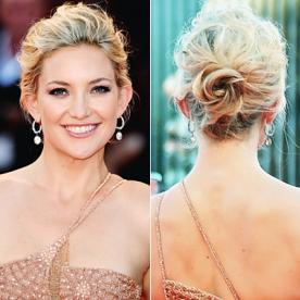 Best updo hairstyles for wedding prom instyle wedding updos kate hudson junglespirit Images