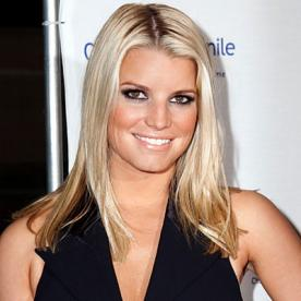 Jessica Simpson Blonde And Brown Hair