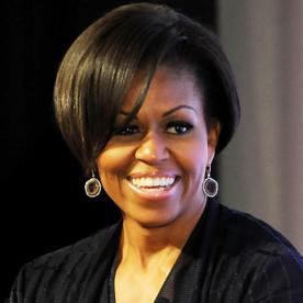 Brilliant Michelle Obama39S Changing Looks Instyle Com Short Hairstyles For Black Women Fulllsitofus