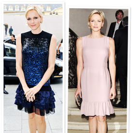 Princess Charlene Goes to Couture Fashion Week (Of Course She Would!)