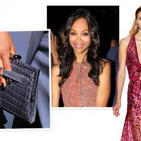 Couture Fashion Week: Zoe Saldana, Zuhair Murad, and More