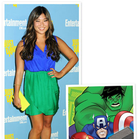 "Jenna Ushkowitz on Her Comic Con 2012 Outfit: ""Feels Like Marvel"""