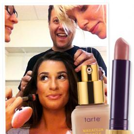 2012 Teen Choice Awards Exclusive: Lea Michele's Makeup Details