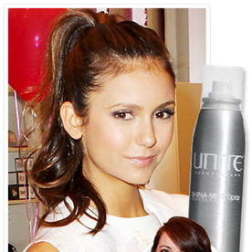 How to Get Nina Dobrev's Polished Ponytail in Four Minutes or Less