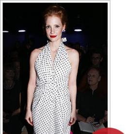 Jessica Chastain's Vintage YSL Dress: The Behind-the-Scenes Story