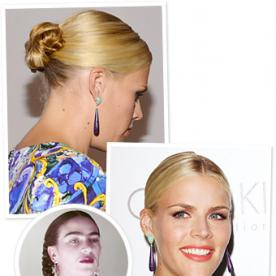 "Busy Philipps on Slicked-Back Bun: ""I Wanted to Do Frida Kahlo Hair"""