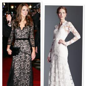 Kate Middleton's Lace Temperley Dress: Coming Soon in White Bridal Version