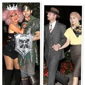 Celebrity Halloween Costumes 2012: Julianne Hough, Ryan Seacrest, Christina Aguilera, and More