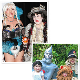 Celebrity Halloween Costumes 2012: Bette Midler as Coco Chanel, Neil Patrick Harris Heads to Oz, and More!