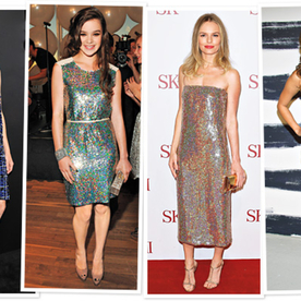 Holiday Look We Love: Sequins Like the Stars