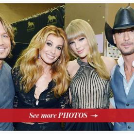 The ACM Awards Wrap-Up: See Photos of Taylor Swift, Faith Hill, Tim McGraw, and More
