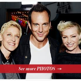 Arrested Development Returns in Less Than a Month! Portia de Rossi, Ellen DeGeneres, and Will Arnett Celebrate