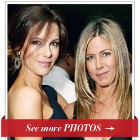 Yay to Namaste! Kate Beckinsale and Jennifer Aniston Launch Their Yoga Instructor's New Book