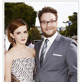Emma Watson and Seth Rogen Premiere This is the End in Los Angeles