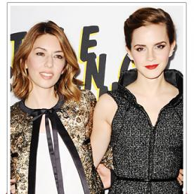 Emma Watson and Sofia Coppola Celebrate The Bling Ring in Los Angeles