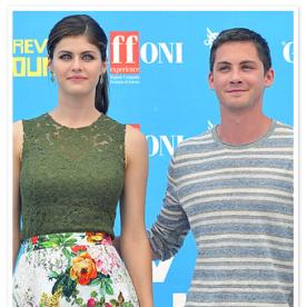 Alexandra Daddario and Logan Lerman Preview Percy Jackson: Sea of Monsters in Italy