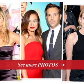 Parties Jennifer Aniston Jason Sudeikis And Emma Roberts