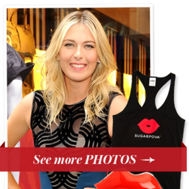 Maria Sharapova Tells Us How She's Accessorizing On the Court Next Week