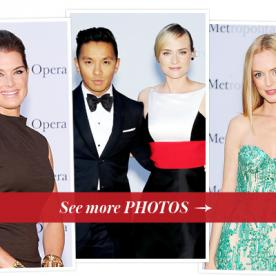 Brooke Shields, Prabal Gurung, Diane Kruger and Heather Graham Dressed Up For the Metropolitan Opera Opener in New York City