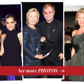 Hillary Clinton, Elton John and More Honored at the Elton John AIDS Foundation's 12th Annual Benefit