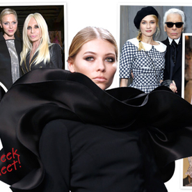 Spring 2013 Haute Couture Week: Stars, Wedding Dresses, and More!