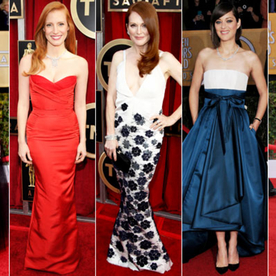 InStyle's 5 Best Dressed of the 2013 SAG Awards