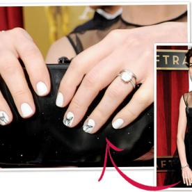 SAG Awards 2013 Best Manicure: Anne Hathaway's Butterfly Design!